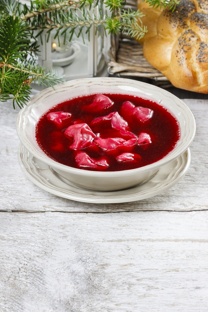 Borscht with Cabbage