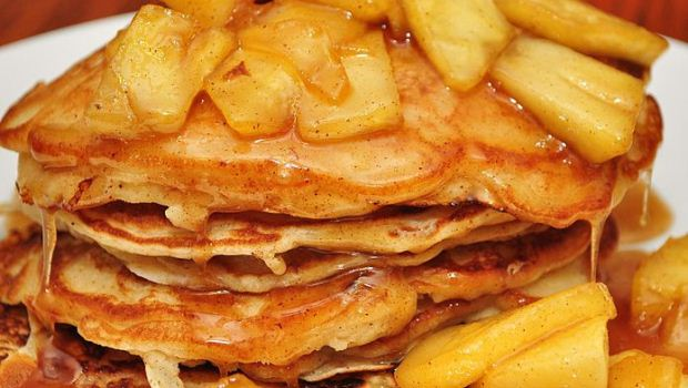 How to Cook a Pancake Day Fluffy Treat With Dutch Fried Apples