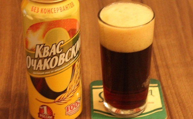 How to make kvass russian bread drink recipe mash for How to make non alcoholic drinks
