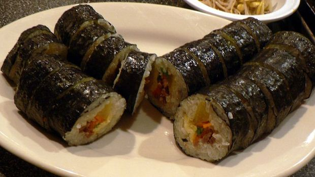 How to Make Tuna Kimbap