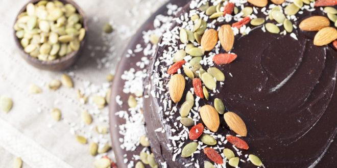 Spicy Chocolate Beet Cake