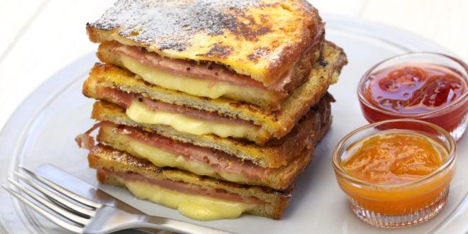 French Toast Monte Cristo Sandwich Recipe