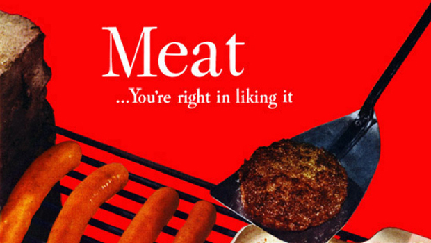 Amazing Vintage Meat Adverts [Gallery]