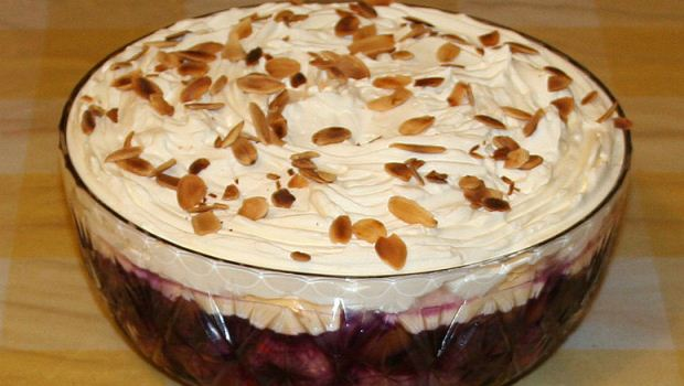 How to Make Drunken Prune-Mascarpone Trifle