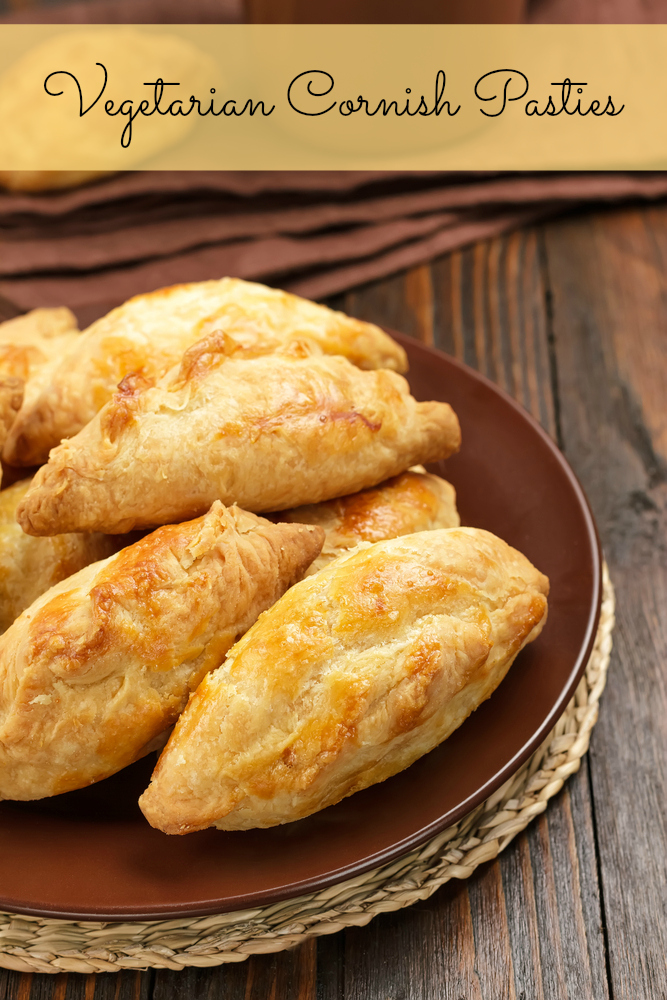 vegetarian pasties recipe