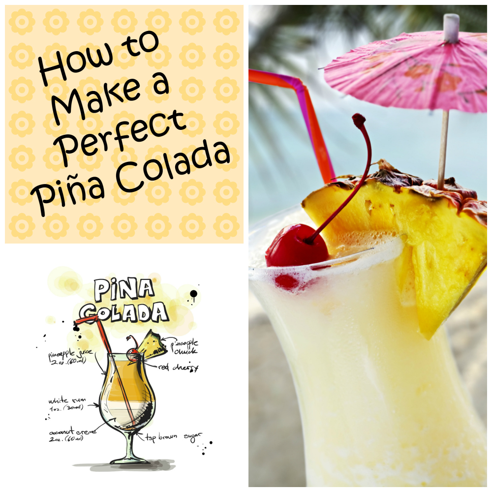 How to make a perfect piña colada