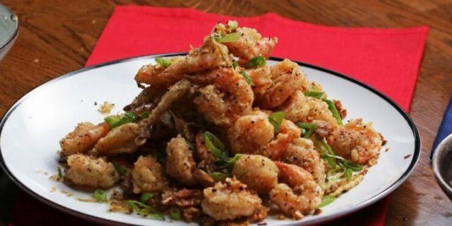 Crunchy Salt and Pepper Shrimp